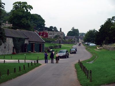 Tissington village street